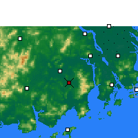 Nearby Forecast Locations - Taishan - Map