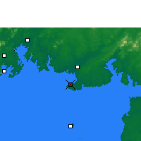 Nearby Forecast Locations - Beihai - Map