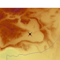 Nearby Forecast Locations - Zagora - Map