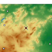 Nearby Forecast Locations - Siliana - Map