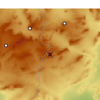 Nearby Forecast Locations - Kasserine - Map