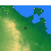 Nearby Forecast Locations - Medenine - Map