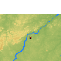 Nearby Forecast Locations - Bamako - Map