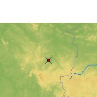 Nearby Forecast Locations - Sikasso - Map