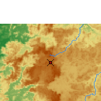 Nearby Forecast Locations - Labé - Map
