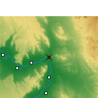 Nearby Forecast Locations - Qena - Map