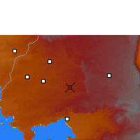 Nearby Forecast Locations - Kakamega - Map