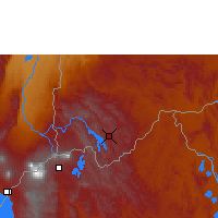 Nearby Forecast Locations - Kabale - Map