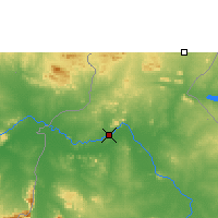 Nearby Forecast Locations - Garoua - Map