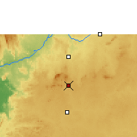 Nearby Forecast Locations - Yaoundé - Map