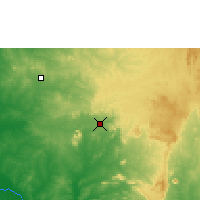 Nearby Forecast Locations - Abuja - Map