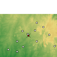 Nearby Forecast Locations - Osogbo - Map