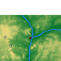 Nearby Forecast Locations - Lokoja - Map