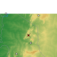 Nearby Forecast Locations - Niamtougou - Map
