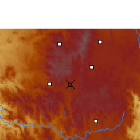 Nearby Forecast Locations - Antsirabe - Map