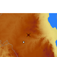 Nearby Forecast Locations - Lilongwe - Map