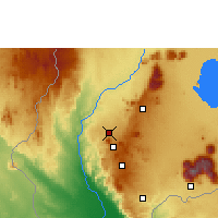 Nearby Forecast Locations - Chileka - Map