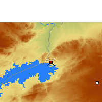 Nearby Forecast Locations - Kariba - Map