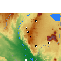 Nearby Forecast Locations - Bvumbwe - Map