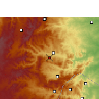 Nearby Forecast Locations - Nelspruit - Map