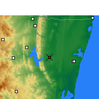 Nearby Forecast Locations - Makatini - Map