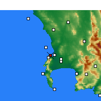 Nearby Forecast Locations - Table Bay - Map