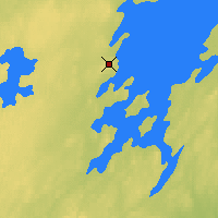 Nearby Forecast Locations - Collins Bay - Map