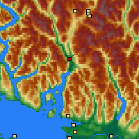Nearby Forecast Locations - Squamish - Map