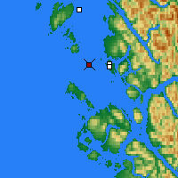 Nearby Forecast Locations - Lucy Islands - Map
