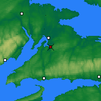 Nearby Forecast Locations - Nappan - Map