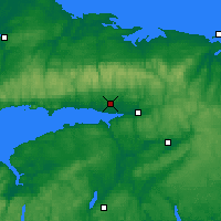 Nearby Forecast Locations - Debert - Map