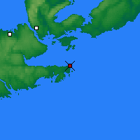Nearby Forecast Locations - Hart Island - Map