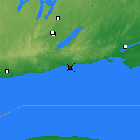Nearby Forecast Locations - Cobourg - Map