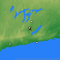 Nearby Forecast Locations - Peterborough - Map