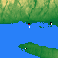 Nearby Forecast Locations - Mingan - Map