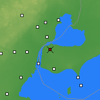 Nearby Forecast Locations - Windsor - Map