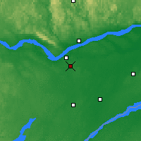 Nearby Forecast Locations - Ottawa - Map