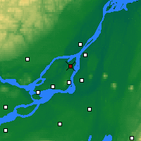 Nearby Forecast Locations - Big Trout Lake - Map