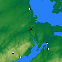 Nearby Forecast Locations - Moncton - Map