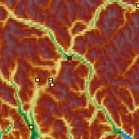 Nearby Forecast Locations - Pemberton - Map