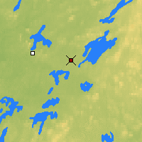 Nearby Forecast Locations - Chibougamau - Map