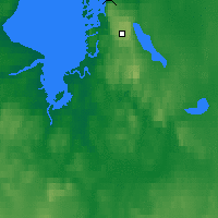 Nearby Forecast Locations - Kugaaruk - Map