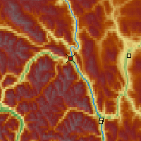 Nearby Forecast Locations - Lillooet - Map