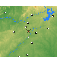 Nearby Forecast Locations - Dobbins - Map