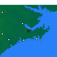 Nearby Forecast Locations - Havelock - Map