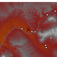 Nearby Forecast Locations - Grand Junction - Map