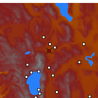 Nearby Forecast Locations - Reno - Map