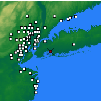 Nearby Forecast Locations - New York (JFK) - Map