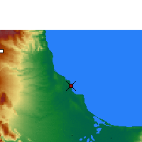 Nearby Forecast Locations - Veracruz - Map