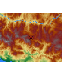Nearby Forecast Locations - Chilpancingo - Map